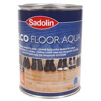Паркетный лак на водной основе SADOLIN CELCO FLOOR AQUA - 5л