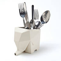 Сушка для столовых приборов Jumbo Peleg Design Кремовая