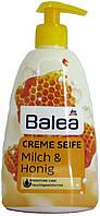 Мыло жидкое DM Bаlea Creme Seife Mich-Honig 500мл.