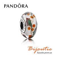 Pandora шарм РОЖДЕСТВЕНСКИЕ ЯГОДЫ серебро 925 муранское стекло Пандора оригинал