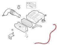 Патрубок воздушного фильтра Fiat Doblo, фото 1