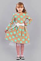 Очаровательное платье на праздник  красивого кроя