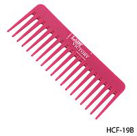 Расческа-гребень c редкими длинными зубцами Lady Victory LDV HCF-19В /81-0