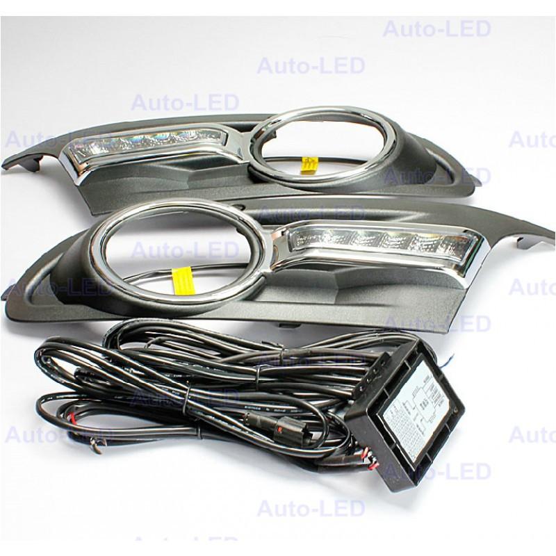 Штатные дневные ходовые огни Auto-LED для VW Golf 6 v3, цена 3 198 грн., купить в Киеве - Prom.ua (ID# 195296991)