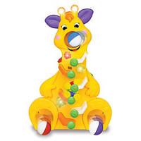 Развивающая игрушка KiddielandPreschool ВЕСЕЛЫЙ ЖИРАФИК (свет,звук)