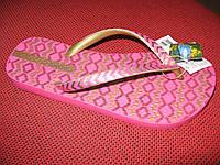 Вьетнамки Ipanema розово-золотые 80424-22031