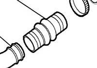 Патрубок турбина-интеркулер Doblo 1.9JTD, фото 1