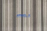 Мебельная ткань  рогожка FLAX STRIPE 01 (производитель Аппарель)