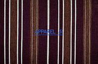 Мебельная ткань  рогожка FLAX STRIPE 04  (производитель Аппарель)