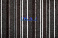 Мебельная ткань  рогожка FLAX STRIPE 07  (производитель Аппарель)