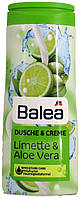 Гель для душа с кремом DM Bаlea Dusche-Creme Limette-Aloe Vera 300мл.
