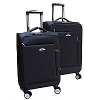 Элитный чемодан на колесиках двойка (Black), 510431