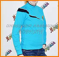 Подростковая кофта Феррари | Детские свитера для мальчиков