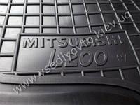 Коврики в салон MITSUBISHI L200 с 2006-2013 гг. (Автогум AVTO-GUMM)