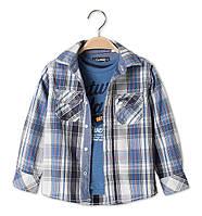 Рубашка на мальчика C&A (Германия) р 110 , 116, 122,128 см