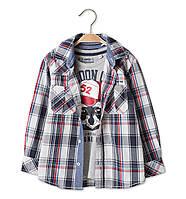 Рубашка на мальчика C&A (Германия) р 110, 116, 122 см