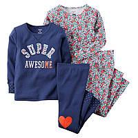 Детская пижама Картерс Carters 5Т рост 105-110