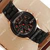 Элегантные наручные часы Geneva Black 1006