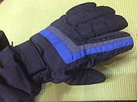 Перчатки горнолыжные мужские PUISSANT р.L черные/синие