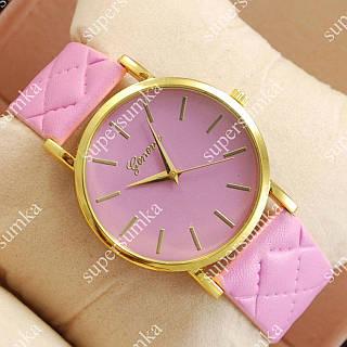 Молодежные наручные часы Geneva Pink/Gold/Pink 1035