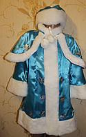 Новогодний костюм для девочки Снегурочки