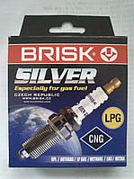 Свечи зажигания Brisk Silver DR15YS для автомобилей на газу