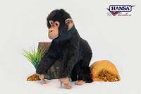 Мягкая игрушка  обезьяна Шимпанзе HANSA 44 см