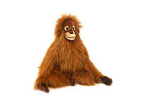 Мягкая игрушка обезьяна Орангутан детеныш HANSA 34 см