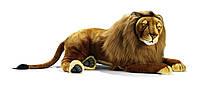 Мягкая игрушка лев HANSA 100 см