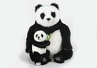Мягкая игрушка Панда c детенышем HANSA 75 см