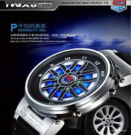 Светодиодные мужские спортивные часы водонепроницаемые X6
