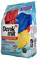 Стиральный порошок для деликатных и шерстяных вещей DM Denkmit Feinwaschmittel (35 стирок) 1,75кг.