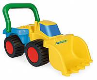 Игрушечный бульдозер ТМ Wader - машинка из серии строительная техника для игры.