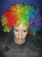 "Карнавальный парик ""клоун"""