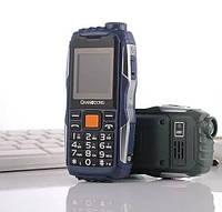 Мобильный телефон power bank V93 на 2 сим карты, с батареей 5800 мАч и светодиодным фонарем, IP54