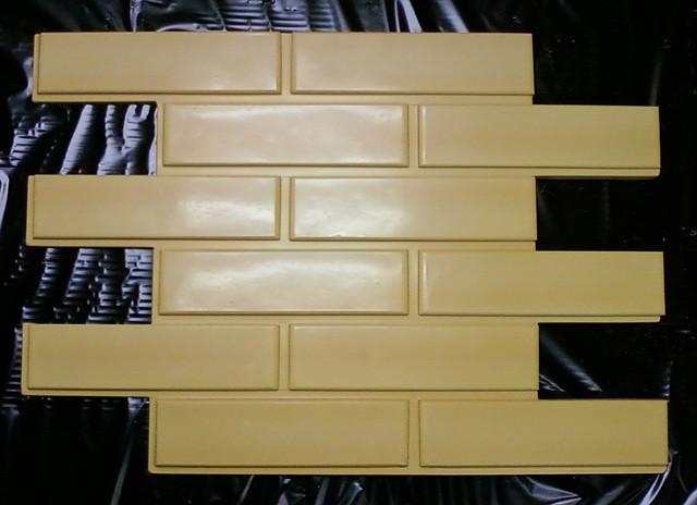 Форма для фасадной плитки