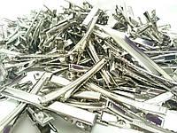 Заготовка для заколки уточка 7,5 см основа металл оптом