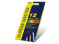 "Цветные карандаши Marco ""SUPERB WRITER"", 12 цветов"