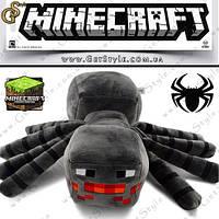"Игрушка Пещерный паук из Minecraft - ""Cave Spider"" - 30 х 35 см."