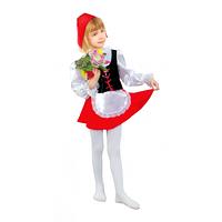 Карнавальный костюм Красная шапочка 214