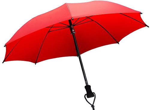 Удобный механический складной зонт EuroSCHIRM Birdiepal Outdoor W2089027/SU17619 красный