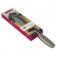Нож SANTOKOU из нержавеющей стали  с полой ручкой (лезвие 16.5см; рукоятка 12см), Kamille 5142
