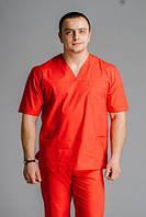Хирургический костюм красный