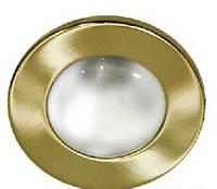 Светильник рефлекторный без стекла Feron R-50 матовое золото /satin-brass/ SB Е-14