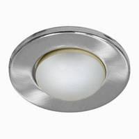Светильник рефлекторный без стекла Feron  R-50 серебро  silver-brass