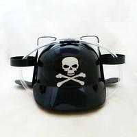Шлем для напитков Веселый Роджер череп , шлем для пива