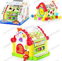 Логическая игра Теремок JT 9196 Интерактивные игрушки Подарки детям от 1 года Развивающие игрушки