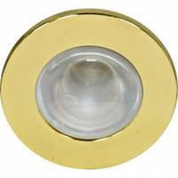 Светильник рефлекторный без стекла Feron  R-50 золото /DL 48