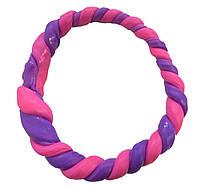 Хендгам (жвачка для рук handgum) - Хамелеон Фиолетовый в розовый 50 г.