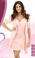 Ночная сорочка и халат BELLA SECRET 4660